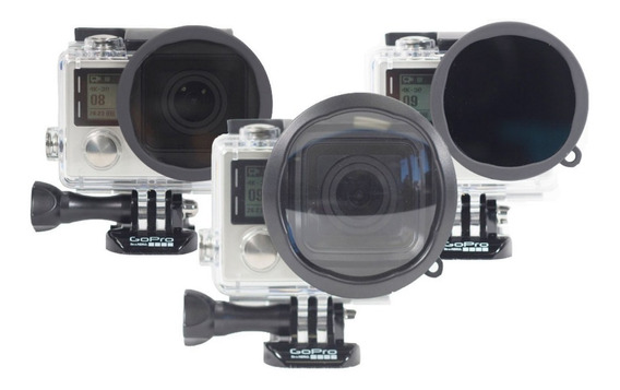 Kit De Filtros Para Aventura Gopro H3+ Y 4 Polar Pro- P1015