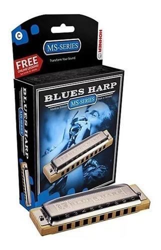 Armonica Hohner Bluesharp Alemana Blusera