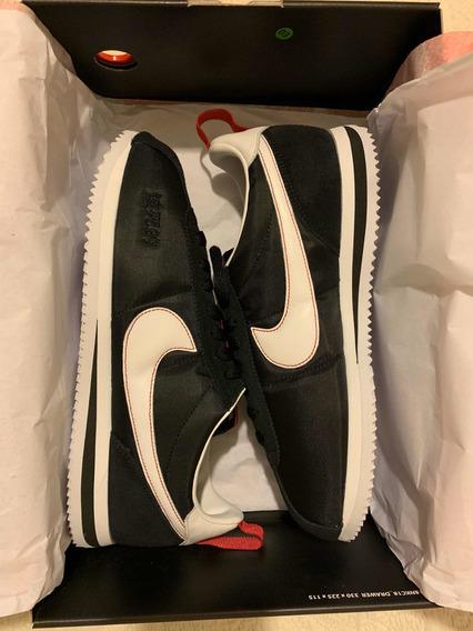 Nike Cortez Kendrick Lamar Negro Y Rojo
