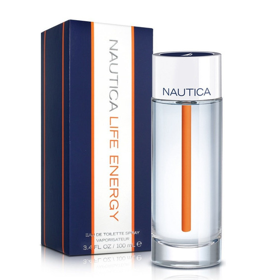 Perfume Nautica Life Energy De Hombre...original