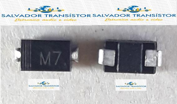 30 Peças Diodo Smd - M7 - 1n4007 - In4007 - 1a / 1000 V