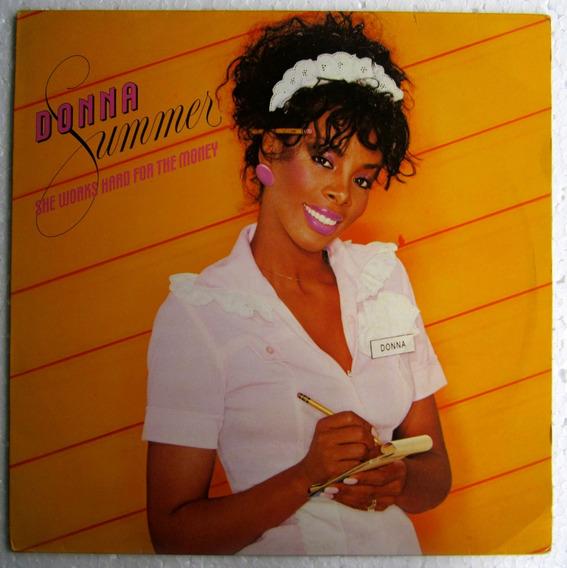 Lp Donna Summer She Works Hard For The Money