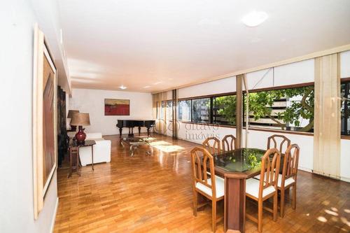 Apartamento Com 5 Dormitórios À Venda, 204 M² Por R$ 5.400.000,00 - Ipanema - Rio De Janeiro/rj - Ap5142