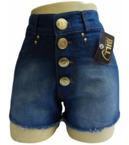 4 Short Jeans Com E Sem Lycra Cintura Alta Preço De Atacado