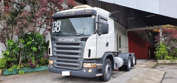 Scania G 380 6x2 Ano 2008 Segundo Dono Ipva 2020 Pago