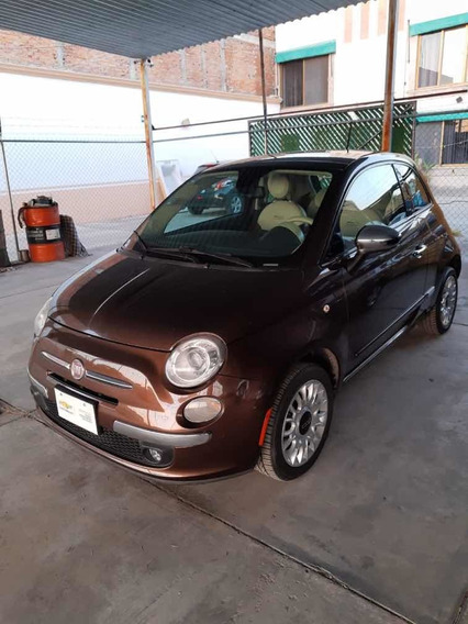 Fiat 500 2013 1.4 3p Lounge Dualtronic Qc Piel At