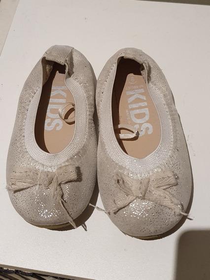 Balerinas Zapatillas De Fiesta Marca Kids. Talle 23 Brillos