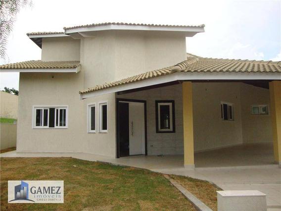 Casa Residencial À Venda, Condomínio Fechado, Atibaia - Ca0370. - Ca0370