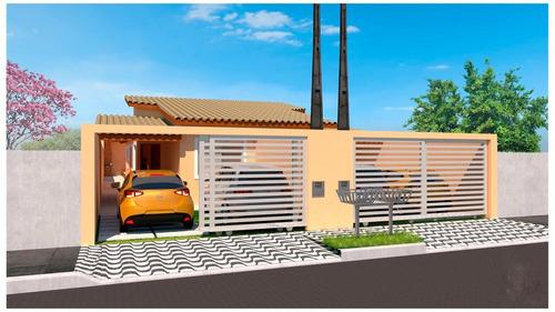 Imagem 1 de 4 de Casa Na Praia Com Piscina E 2 Quartos Em Itanhaém/sp 6998-pc