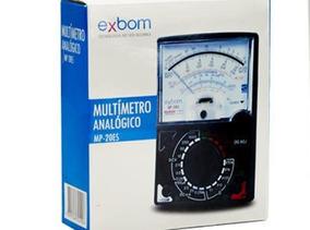 Multimetro Analogico Profissional Mp-30eb Exbom