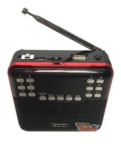 Radio Onda Corta Am Fm Sw  Recargable Mp3 Envio Gratis