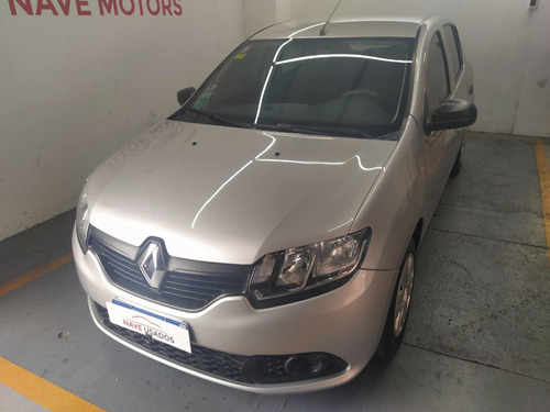 Renault Sandero 1.6 Authentique 90cv Nac 2017 Ab547 Anticipo