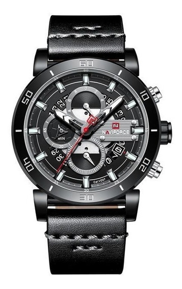 Relógio Naviforce 9131 Luxo Masculino Original