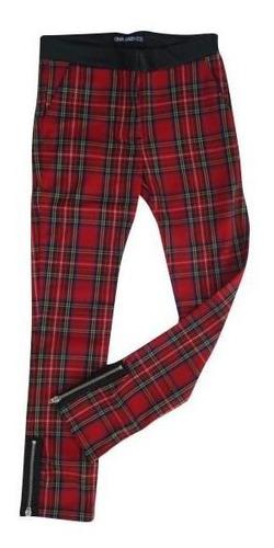 Pantalon Underground - En Tela Escocesa