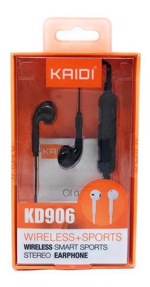 Fone Sports Sem Fio Fitness Alcatel Bluetooth - Kaidi Kd 906