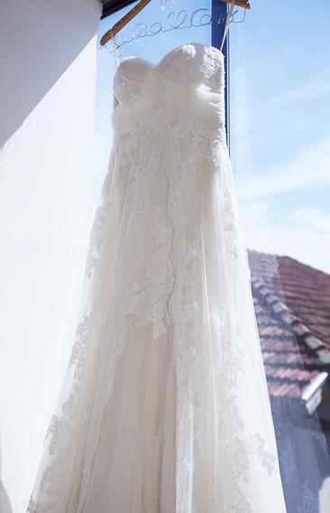 Vestido De Noiva Em Cristais Swarovski - St. Patrick