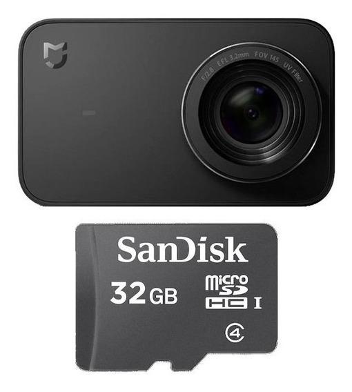 Camera Filmadora Ação Mi Action Xiaomi Mijia 4k +cartão 32gb