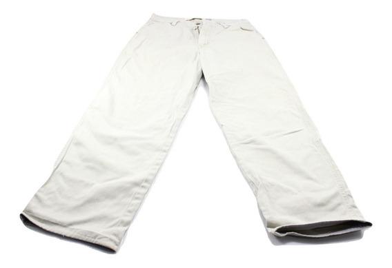 Pantalon Gap Gabardina Beige Pierna Amplia Talla 29x29 Uso