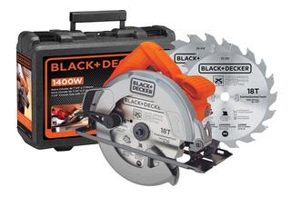 Sierra Circular Black&decker Cs1004ka 1400w + 2 Discos Bg