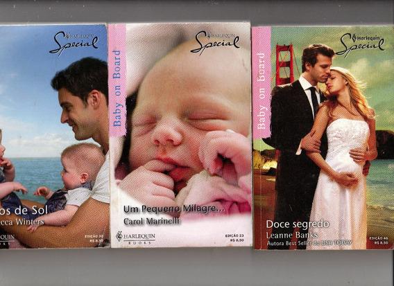 Lote Com 3 Livros Harlequin Special - Frete Gratis