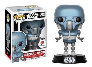 Funko Pop Medical Droid Exclusivo Walgreens Star Wars 212