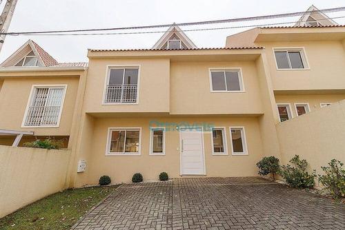 Imagem 1 de 30 de Sobrado Com 3 Dormitórios À Venda, 94 M² Por R$ 725.000,00 - Barreirinha - Curitiba/pr - So0528