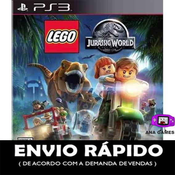 Lego Jurassic World Ps3 - Jogo Digital