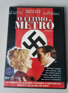 Dvd Filme O Último Metrô - Catherine Deneuve - Frete 11,00!