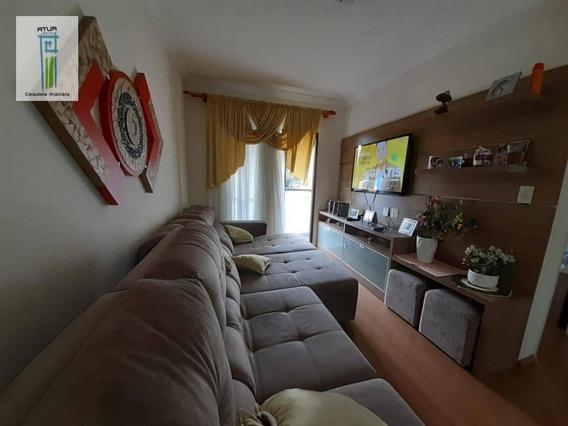 Apartamento Com 2 Dormitórios À Venda, 66 M² Por R$ 480.000 - Santana - São Paulo/sp - Ap0624