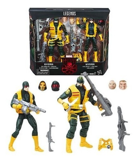 Marvel Legends Hydra Soldier Hydra Enforcer Hasbro