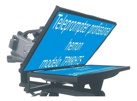 Teleprompter Profissional Monitor Led/lcd Completo