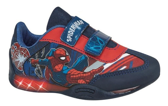 Tenis Niño Con Luces Spider-man833364 Ps Fall19