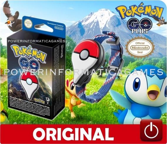 Pulseira Pokemon Go Plus Original Nintendo Novo Lacrado