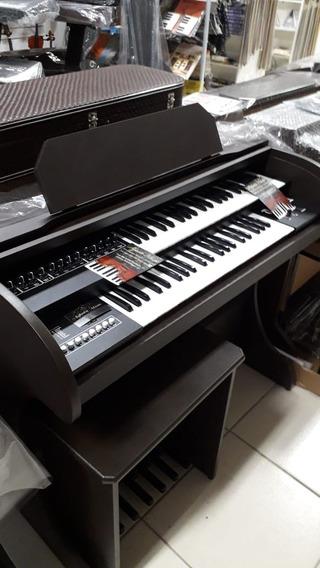 Órgão Eletrônico Rhones Onix Plus Marron Fosco Ccb Novo Garantia Organista