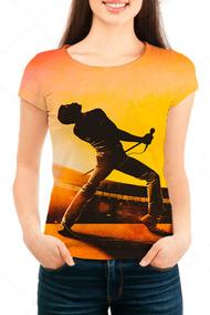 Camiseta Babylook Feminina Freddie Mercury - Mn02