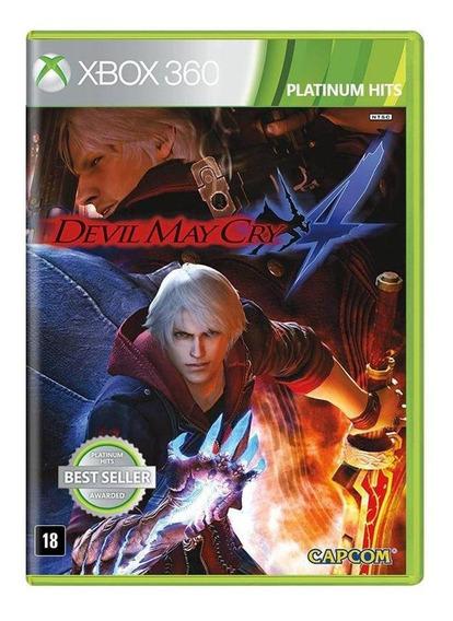 Devil May Cry 4 Xbox 360 Mídia Física Novo Lacrado