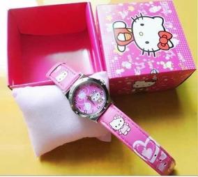 Relógio Da Hello Kitty Na Caixa ***pronta Entrega***