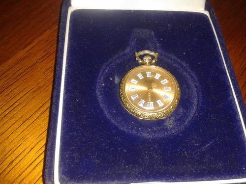 Reloj Marca Atlanta  Enchapado En Oro