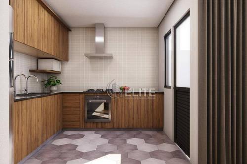 Cobertura Com 2 Dormitórios À Venda, 79 M² Por R$ 389.000,00 - Santa Maria - Santo André/sp - Co1579