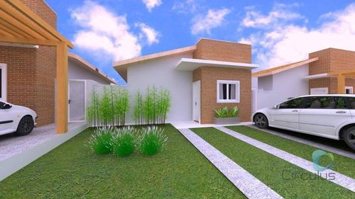 Casa Com 2 Dormitórios À Venda, 70 M² - Bonfim Paulista - Ribeirão Preto/sp - Ca1797