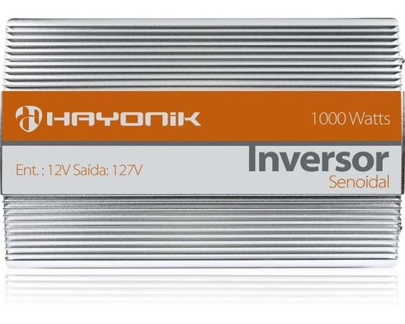 Inversor 1000w Onda Senoidal Pura 12vdc/127v Usb