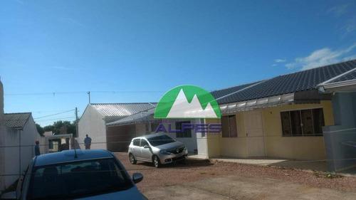 Lançamento! Casa Com 2 Quartos No Nações, Fazenda Rio Grande. - Ca0047
