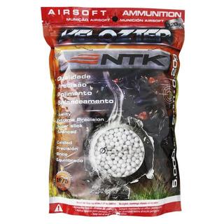Bolinha De Airsoft 6mm 12gr Alta Precisão 2000un + 3 Alvos