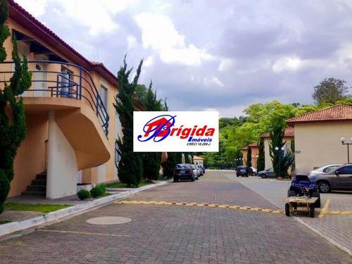 Linda Casa No Condomínio Vilagio Vale Verde, Cotia! - Ca54