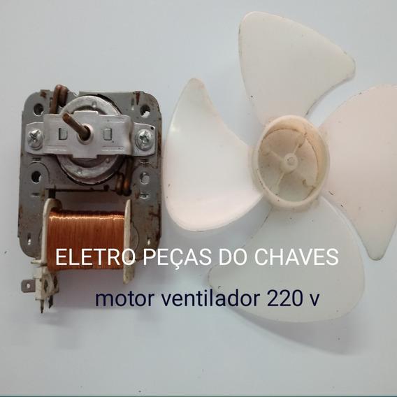 Ventoinha Para Microondas 220v ( Usado ) Com Ventuinha