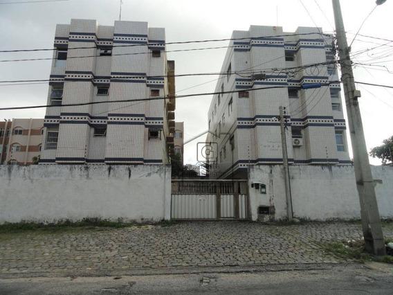 Apartamento Com 2 Dormitórios Para Alugar, 48 M² Por R$ 800/mês - Praia Do Meio - Natal/rn L0583 - Ap0294