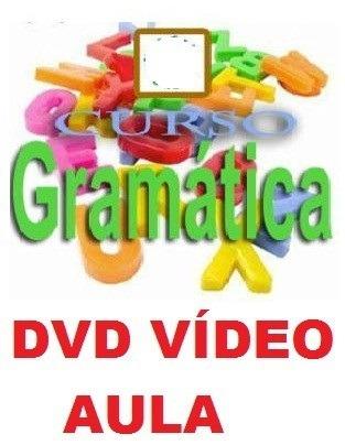 Aulas De Gramática Curso Em 1 Dvd Apo