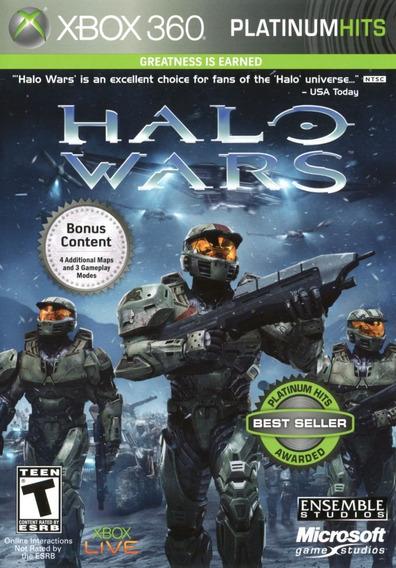 Jogo Halo Wars Xbox 360 X360 Mídia Física Pronta Entrega