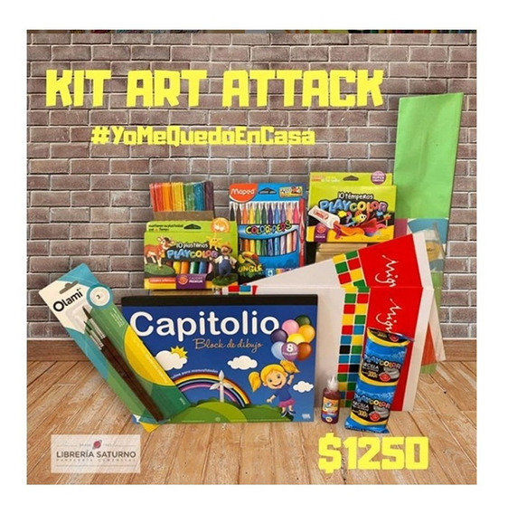 Kit Arte Manualidades Para Chicos Art Attack