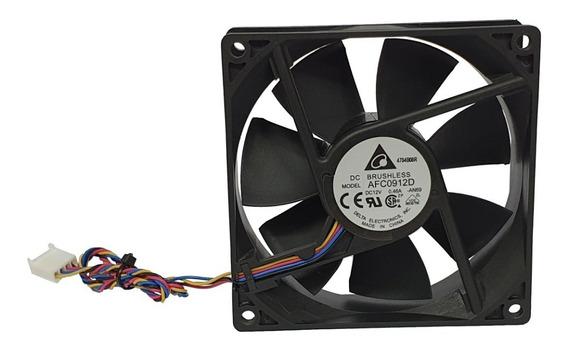 Cooler Delta 9 Cm Com Sensor Alta Qualidade Pronta Entrega